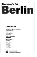 Birnbaum S Berlin