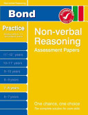 Bond Non Verbal Reasoning Assessment Papers 7 8 Years