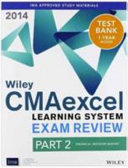 Wiley Cma Learning System Exam Review 2014 Instructor S Guide