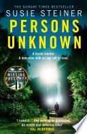 Persons Unknown  A Manon Bradshaw Thriller