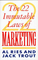 cover img of The 22 Immutable Laws of Marketing