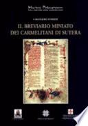 Il breviario miniato dei Carmelitani di Sutera