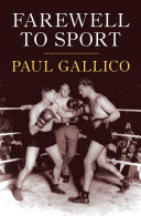 Farewell to Sport All Time A Classic Collection By One Of
