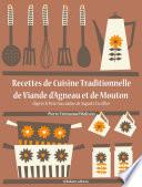 illustration Recettes de Cuisine Traditionnelle de Viande d'Agneau et de Mouton