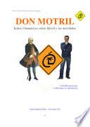 DON MOTRIL. Indice onomástico sobre Motril y los motrileños