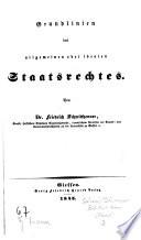 Zwölf Bücher vom Staate oder systematische Encyklopädie der Staatswissenschaften