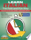 Learn Italian the Fast and Fun Way with MP3 CD Book PDF