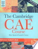 The Cambridge CAE Course Self Study Student s Book