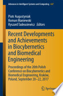 Recent Developments and Achievements in Biocybernetics and Biomedical Engineering