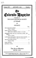 The Colorado Magazine