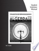 Student Solutions Manual For Aufmann Lockwood S Introductory Algebra An Applied Approach 9th