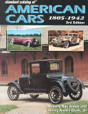 Standard Catalog of American Cars  1805 1942