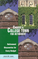 Choose a College Town for Retirement