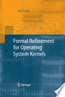 Formal Refinement for Operating System Kernels