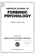 The American Journal of Forensic Psychology