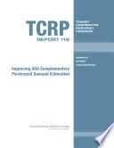 Improving Ada Complementary Paratransit Demand Estimation