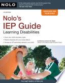Nolo s IEP Guide