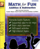 Math For Fun Addition Subtraction