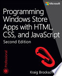 Programming Windows Store Apps With Html Css And Javascript