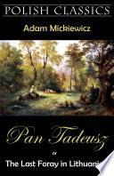 download ebook pan tadeusz (pan thaddeus. polish classics) pdf epub