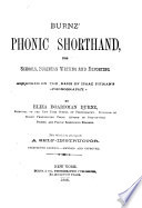 Phonic Shorthand for Schools  Business Writing and Reporting