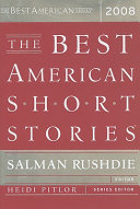 The Best American Short Stories 2008 book