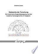 Netzwerke der Forschung. Die historische Eugenikbewegung und die moderne Humangenomik im Vergleich