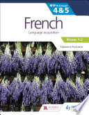 French for the IB MYP 4 5  Phases 1 2   by Concept