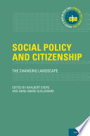 Social Policy and Citizenship