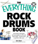 The Everything Rock Drums Book with CD