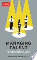 The Economist  Managing Talent