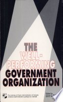 The Well-performing Government Organization