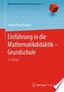 Einführung in die Mathematikdidaktik – Grundschule