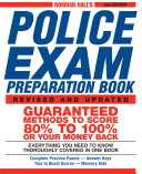 Norman Hall s Police Exam Preparation Book