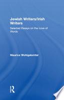 Jewish Writers Irish Writers