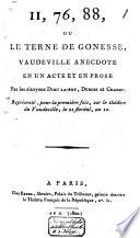 11  76  88  ou Le terne de Gonesse