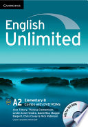 English Unlimited Elementary B Combo with DVD ROMs  2