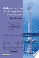 Mathematics For Civil Engineers book
