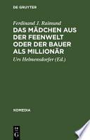 Das M Dchen Aus Der Feenwelt Oder Der Bauer Als Million R