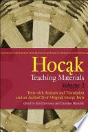 Hocak Teaching Materials  Volume 2