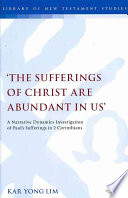 The Sufferings of Christ Are Abundant In Us