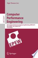 Ebook Computer Performance Engineering Epub Nigel Thomas Apps Read Mobile