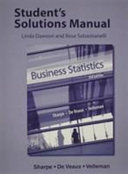 Student s Solutions Manual for Business Statistics