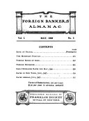 The Foreign Bankers Almanac