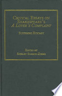 Critical Essays on Shakespeare's A Lover's Complaint