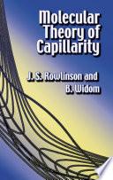 Molecular Theory of Capillarity