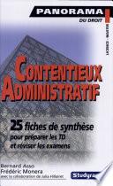 Contentieux Administratif