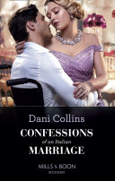 Confessions Of An Italian Marriage (Mills & Boon Modern) Book Cover