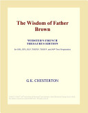 The Wisdom of Father Brown  Webster s French Thesaurus Edition