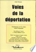 Voies de la déportation